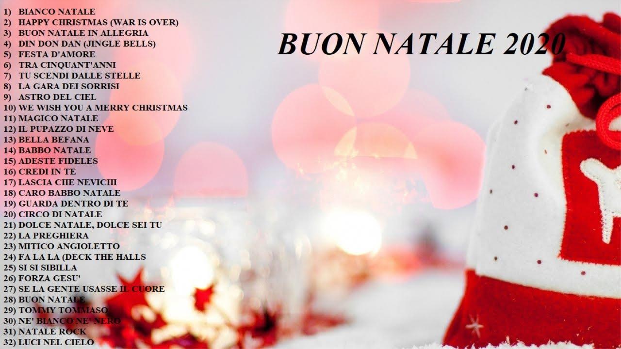 Auguri Di Buon Natale Canzone Testo.Buon Natale 2020 Le Piu Belle Canzoni Di Natale Per Bambini Youtube