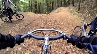 A ride in the woods on Jones bicycles in Ashland Oregon