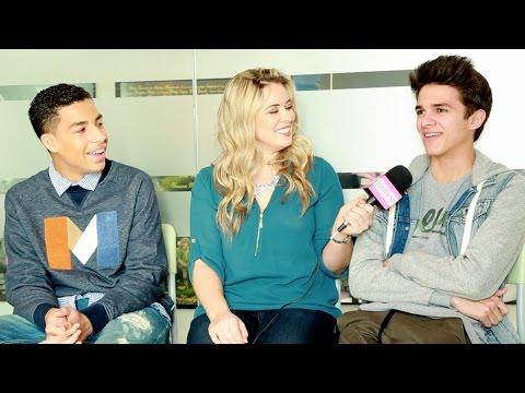 "Justine Magazine: Brent Rivera & Marcus Scribner Talk ""Alexander IRL"" Kissing, BTS & More!"
