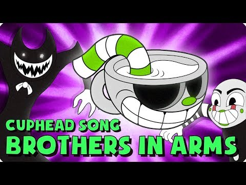 NIGHTCORE | CUPHEAD SONG (BROTHERS IN ARMS) LYRIC VIDEO - DAGames