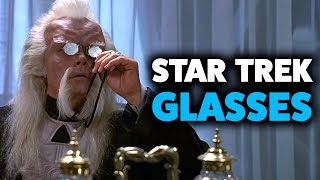 Every Time Glasses Appear in Star Trek