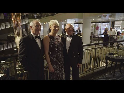 Black Tie Night On Board Britannia Holidayfirsts With P Amp O Cruises Youtube