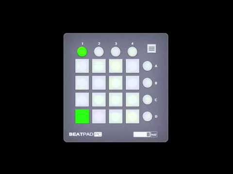 [Beatpad PC x16] Skrillex - Kyoto feat.Sirah [FREE DOWNLOAD]