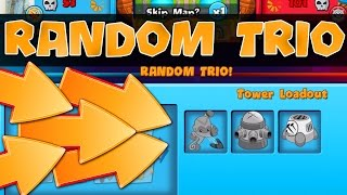 Bloons TD Battles  ::  NEW GAME MODE  ::  RANDOM TRIO  ::  BTD BATTLES