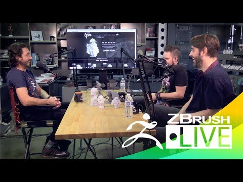 ZBrush Supergroup Grim Artists James W Cain & Maarten Verhoeven - The ZBrush Podcast Episode 23
