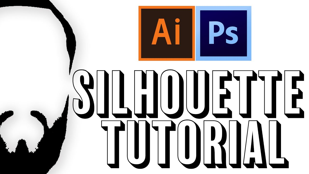 how to create highlight in a silhouette