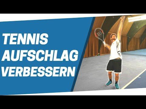 Tennis Aufschlag verbessern - In 3 Schritten zu einem besseren Aufschlag!