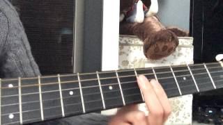 Урок игры на гитаре#1 Smoke On The Water