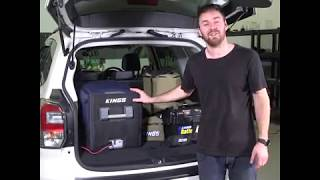 If you have a smaller car, an Adventure Kings 45l Fridge is the perfect size for you!
