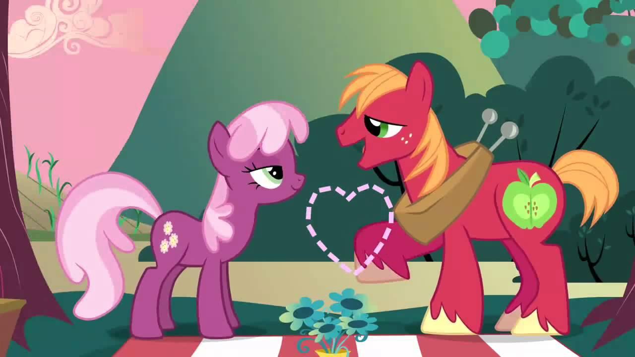 My Little Pony Big Mac & Cheerilee Marry You - YouTube