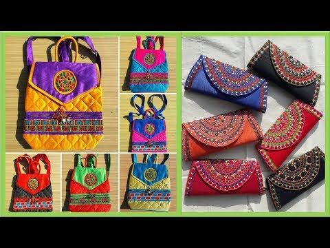 New Collection Of Kutchi Handicrafts Bags | Designer handcrafts bags