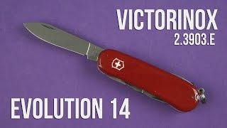 Розпакування Victorinox Evolution 14 (2.3903.E)