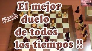 Fischer vs Spasski en el mejor duelo de todos los tiempos, Match del siglo  Año 1972, 6ª ronda