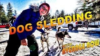 Today I'm Dog Sledding through the Canadian Wilderness and I'm goin...