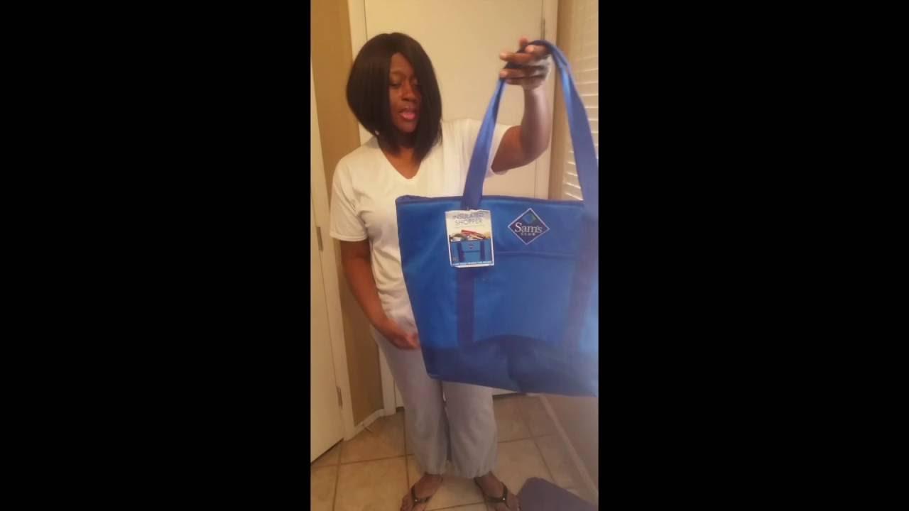 4a9ad72897 Sam s Club Insulated Shopper Bag