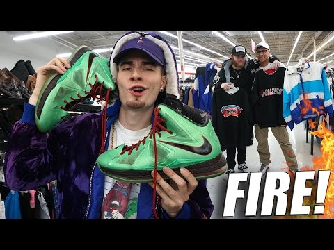 Trip to the Thrift #148 | $2 Lebron 10 Cutting Jades! OG Nike and Adidas Pieces Too!