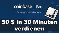 Geld verdienen mit Kryptowährungen in wenigen Minuten - So geht's!