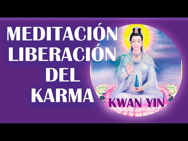 Meditación para la liberación del karma. Lago Violeta