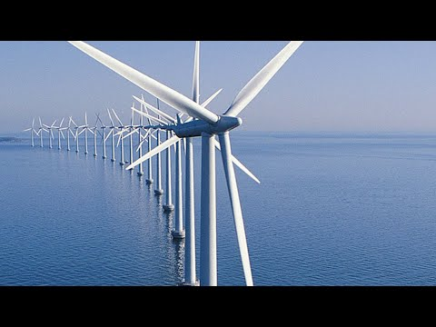 Wind power: Wind turbine to harness power from typhoon; The largest offshore wind farm - Compilation