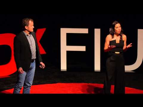 Eat healthier and save the environment | Brian Machovina and Eileen McHale | TEDxFIU