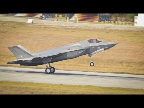 Brand New ROYAL AIR FORCE F-35B Delivered at MCAS Beaufort
