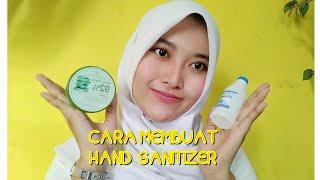 Cara membuat hand sanitizer sendiri dengan mudah !! mencegah virus corona | by bidan