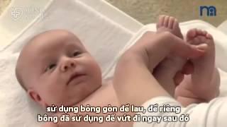 Cách tắm cho trẻ sơ sinh