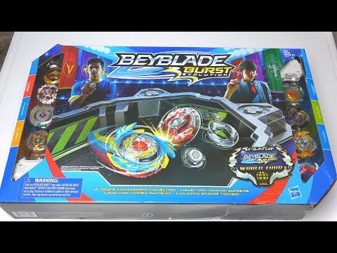 NEW HASBRO ULTIMATE TOURNAMENT COLLECTION UNBOXING | Beyblade Burst Evolution God
