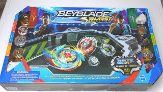 NEW HASBRO ULTIMATE TOURNAMENT COLLECTION UNBOXING   Beyblade Burst Evolution God