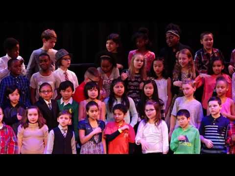 Stevenson 4th Grade Choir Concert, February 2017
