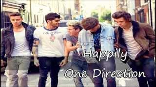 Happily - One Direction Letra Inglés y Español