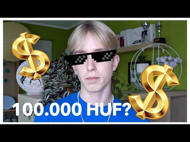 100.000 FORINTOT KÖLTÖTTEM 10 PERC ALATT✅ I WhisperTon