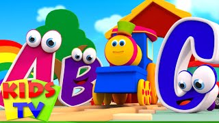 Bob, The Train - ABC SONG | ABC TRAIN