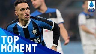 Lautaro Scores Super Goal for Inter Against Atalanta | Inter 1-1 Atalanta | Top Moment | Serie A TIM