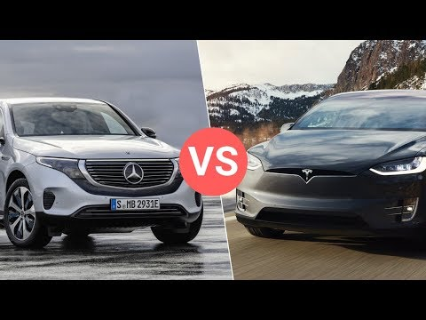 Mercedes EQC vs Tesla Model X & Jaguar I-Pace - Will They Be Able to Compete?