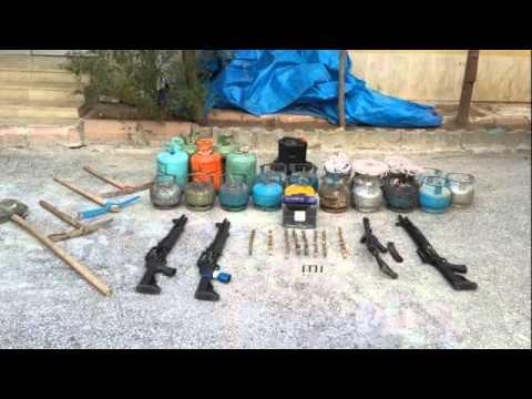 Şırnak'ta PKK'nın patlayıcıları ele geçirildi