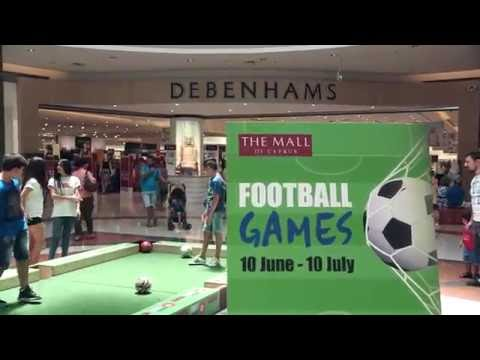 Football Games at The Mall of Cyprus