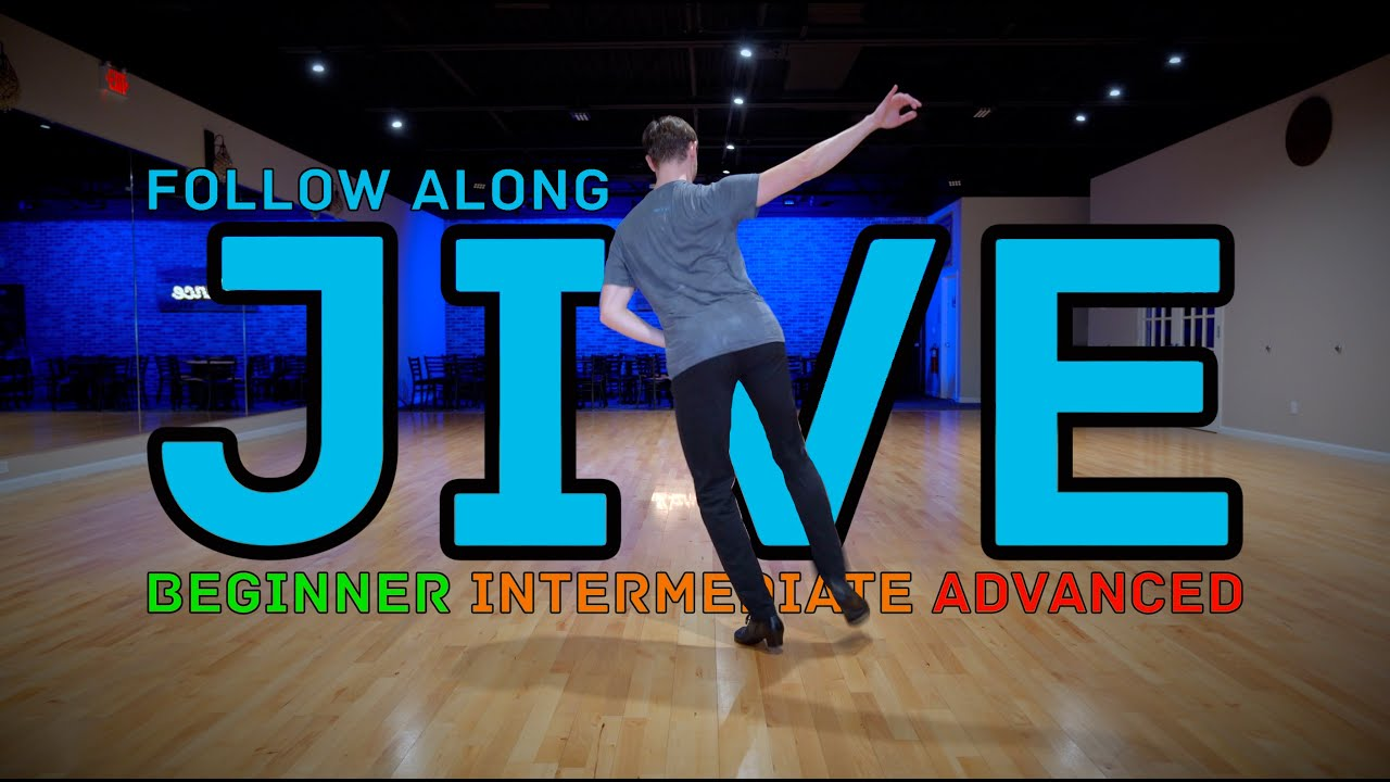 Jive Beginner to Advanced In 6 Minutes | Follow Along Exercise Video