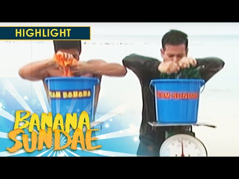 Banana Sundae: Wet Shirt Game | Team Banana VS Team Sundae