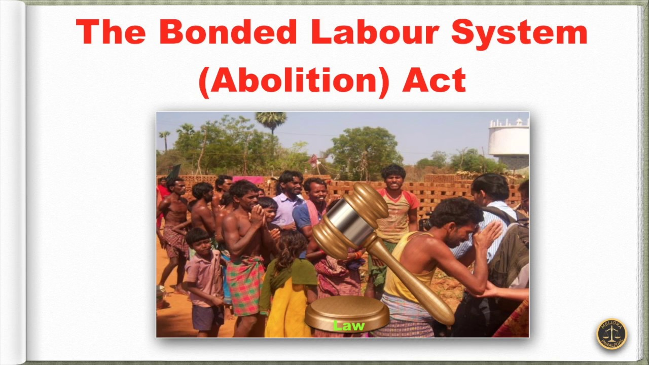 Ppt end bonded child labour in india powerpoint presentation.