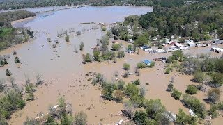 500-Year Flood Event In Michigan