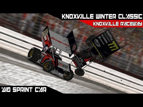 iRacing - Knoxville Winter Classic @ Knoxville Raceway Race 3