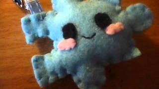 How To Make A Kawaii Jigsaw / Puzzle Piece Plush From Felt