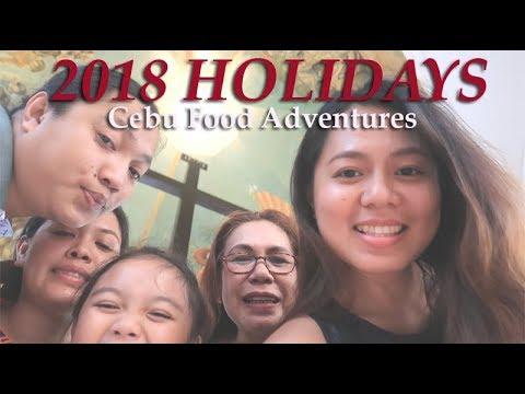 2018 Holidays Vlog | Cebu Food Adventures with Family