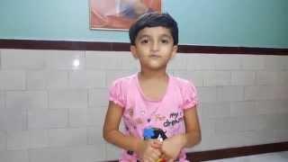 Siddhi Kshitij Yelkar - Ganpati Stotra in Marathi - 23rd July 2015