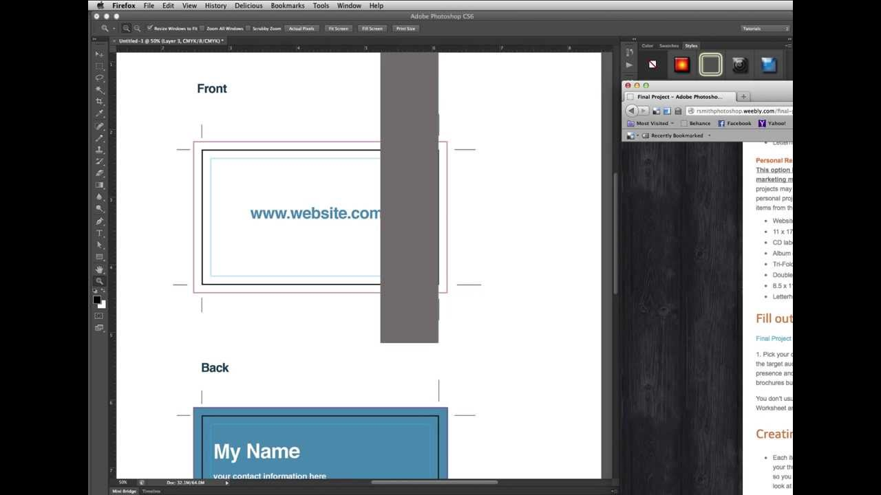 Make a business card template in photoshop youtube make a business card template in photoshop colourmoves