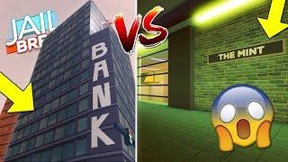 JAILBREAK THE MINT ROBLOX BANK UPDATE! *SECRET* THE MINT BANK GLITCH!