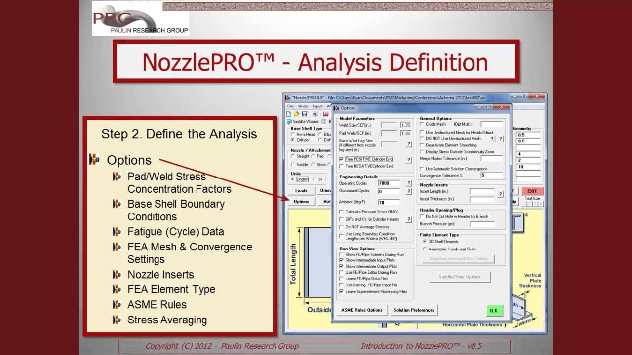 paulin nozzle/pro software