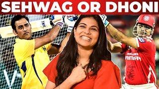 'DHONI' Last Ball Six Or 'SEHWAG' 1st Ball Four ?? Manisha Shree Opens Up | 90's KIDS Vs 2K KIDS