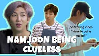 BTS Namjoon Being Clueless